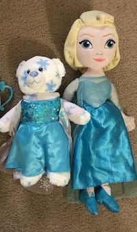Build-a-bear and singing Elsa  Cypress, 90620