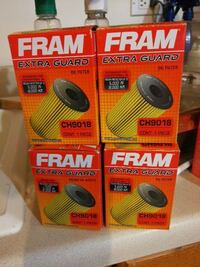 Fram oil filters NEW # CH9018 FROM 04 cavalier