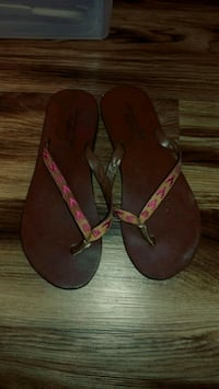 American Eagle size 7 sandals / flip flop - used Alexandria, 22304