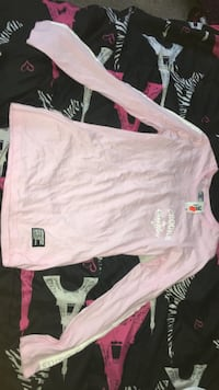 Pink crooks and castles long sleeved shirt 2658 km