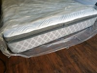 New king. Mattress 550 Delivery 50 europillowtop p Edmonton, T6J 5H7