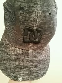 black and gray DC hat no low ballers