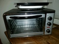 stainless steel and black toaster oven Queens, 11004