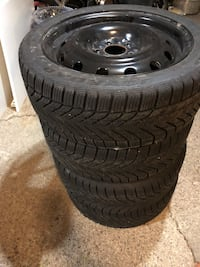Winter rims and tires for sale Brampton, L6W 2X1