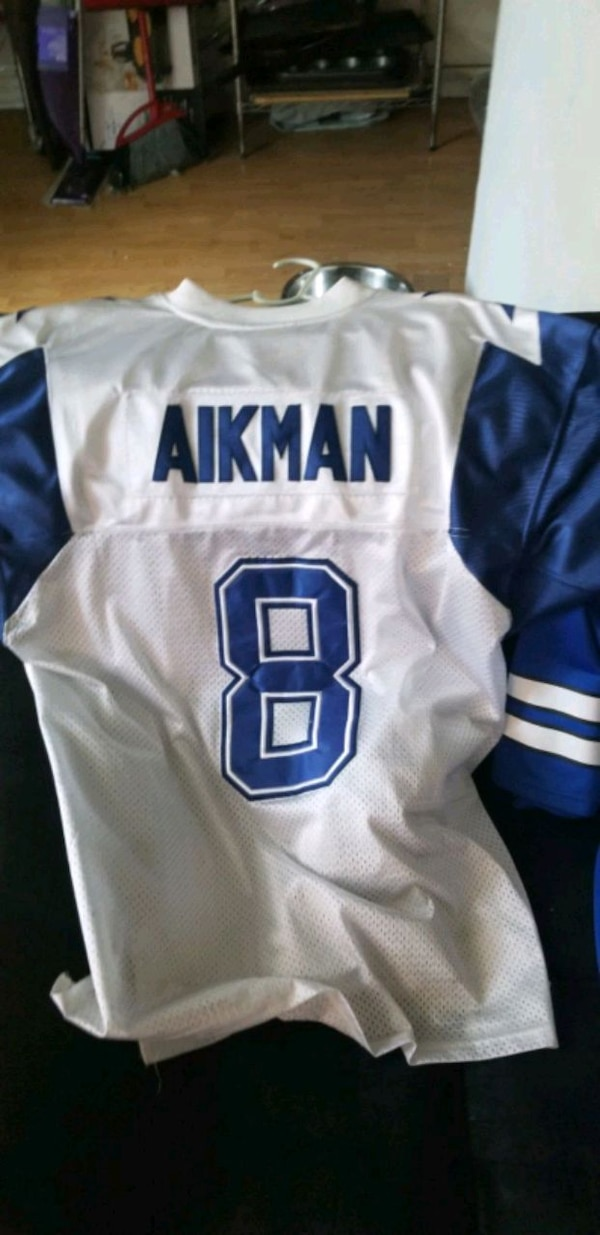 huge selection of dd81c 1b461 Troy aikman 75 anniversary jersey