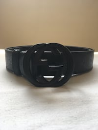 All Black Gucci Belt Mississauga, L5N 7G3