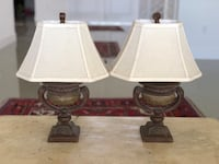 Twin table lamps Parkland, 33076