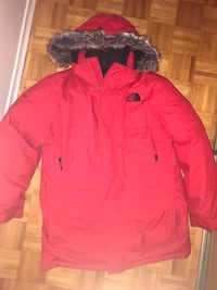 Selling North Face Red Winter Jacket Toronto, M6G 3X8