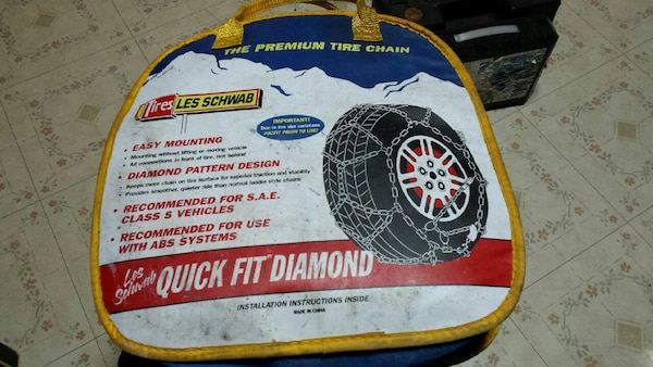 Les Schwab Tire Chains 1555 S