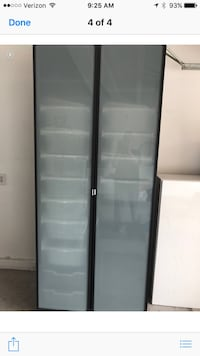 2pc portable closet with drawers