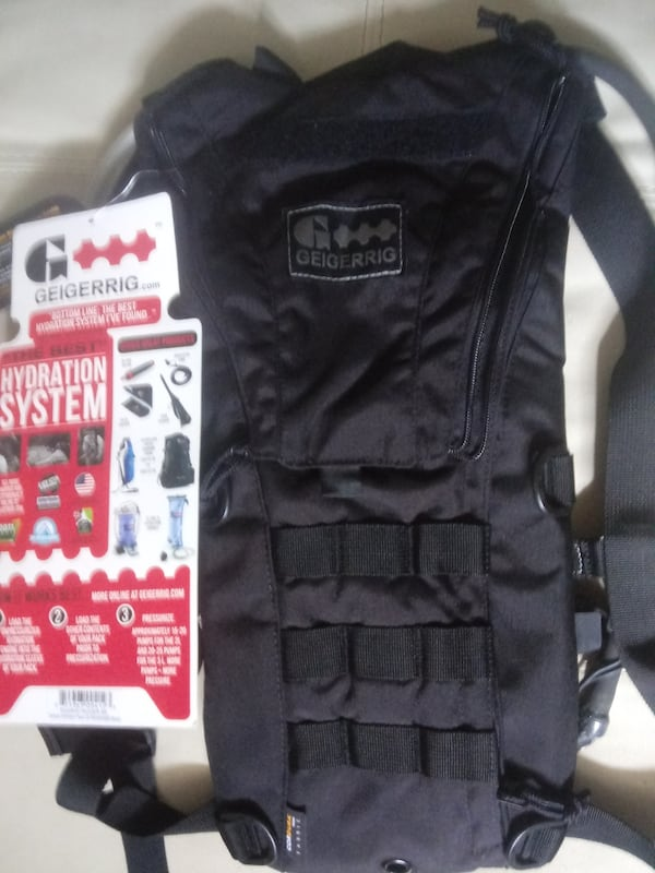 GEIGERRIG TACTICAL RIGGER HYDRATION PACK   0