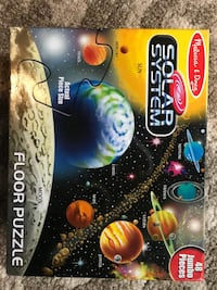 Melissa and Doug's Solar System Floor Puzzle - 48 large pieces.