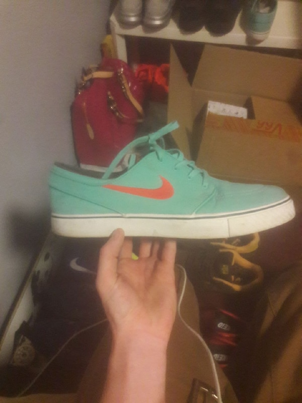 new style 8a536 d4362 Used used nike janoski tropical orange and blue for sale in McKees Rocks -  letgo