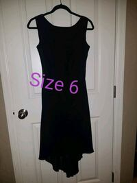 Evening Dress Size 6 with train black Colorado Springs, 80918