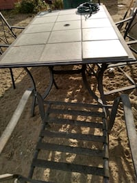 Patio Table/4 chairs Bloomfield, 87413