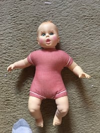 """Gerber baby from 1970 approximately 17"""" tall"""