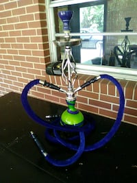 white and blue hookah  Brooklet, 30415