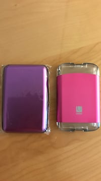 Credit card cases purple or pink