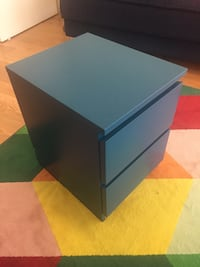 IKEA teal color 2 drawer chest New York, 11201