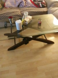 GLASS COFFEE TABLE WITH TWO END TABLES Edmonton, T6C