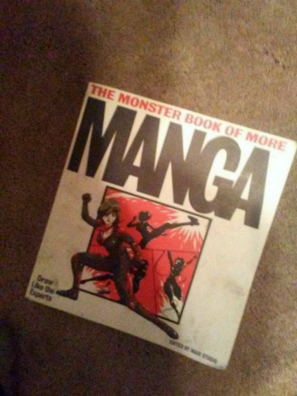 Used The Monster Book Of More Manga For Sale In Concord