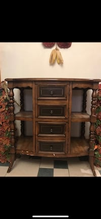 Brown wooden cabinet Somerville, 02143