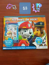 Brand New Paw Patrol Giant Coloring Pad Vancouver, V5P 1T6