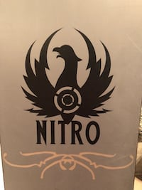 Nitro Magnum freestyle board with  Burton Motto boots Denver, 80202