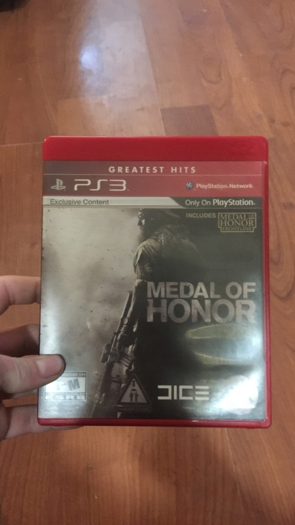 ps3 greatest hits medal of honor