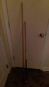 two brown cue stick Chesapeake, 23323