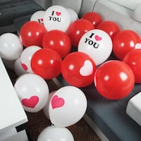 """12"""" Assorted Premium Latex Balloons for Valentine's Day, Wedding, Propose Party Decoration Hacienda Heights, 91745"""