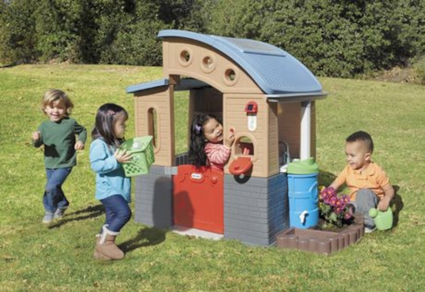 Little Tikes Go Green Play House - FREE DELIVERY! ff92ccad-76f1-4398-8dd5-f7f5da12b76f