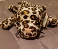 TY Beanie Baby Freckles the leopard, retired - sty West Hollywood, 90069