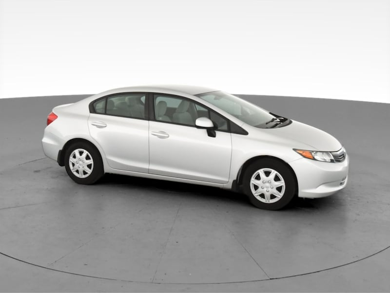 2012 Honda Civic sedan LX Sedan 4D Burgundy  13