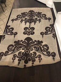 Beige and brown 96 in panel set of two Nashville, 37203
