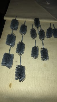 """assorted weiler abrasive tubing brushes,2"""",1 3/4"""",1 1/2"""",assorted grits Manchester, 03102"""