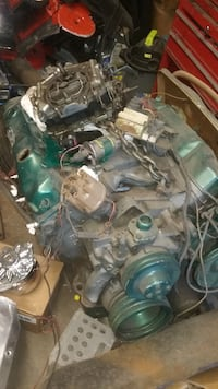 green and gray car engine AKRON