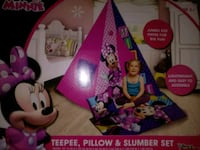 Play tent & pillow