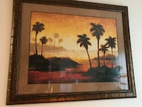 Great condition Beautiful print with gorgeous frame  Portland, 97236