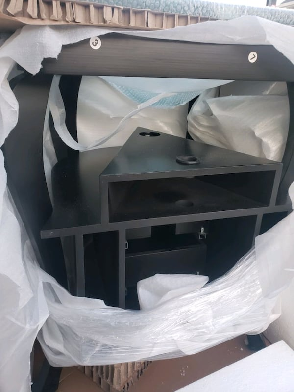 Brand new out the box Fresca vanity sink mirror included  8