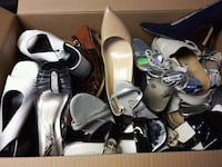 assorted-color footwear lot Toronto, M6M 0A2