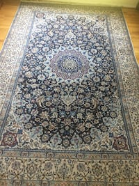 black and brown floral area rug Potomac, 20854