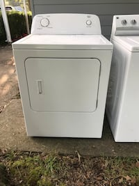 white front-load clothes washer Gaithersburg, 20879