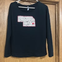 Long Sleeve Husker tee - from Boutique - Large Denton, 68339