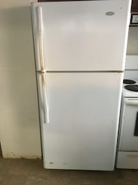 white top-mount refrigerator Beaumont, T4X