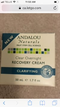 Brand new! Andalou recovery night cream 559 km