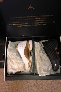 Jordan 13 and 14 DMP Pack size 12 (sz 12) Indian Head, 20640