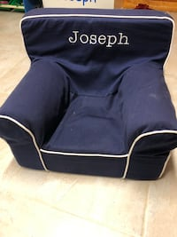 Pottery barn chair with name Joseph navy Hackensack, 07601