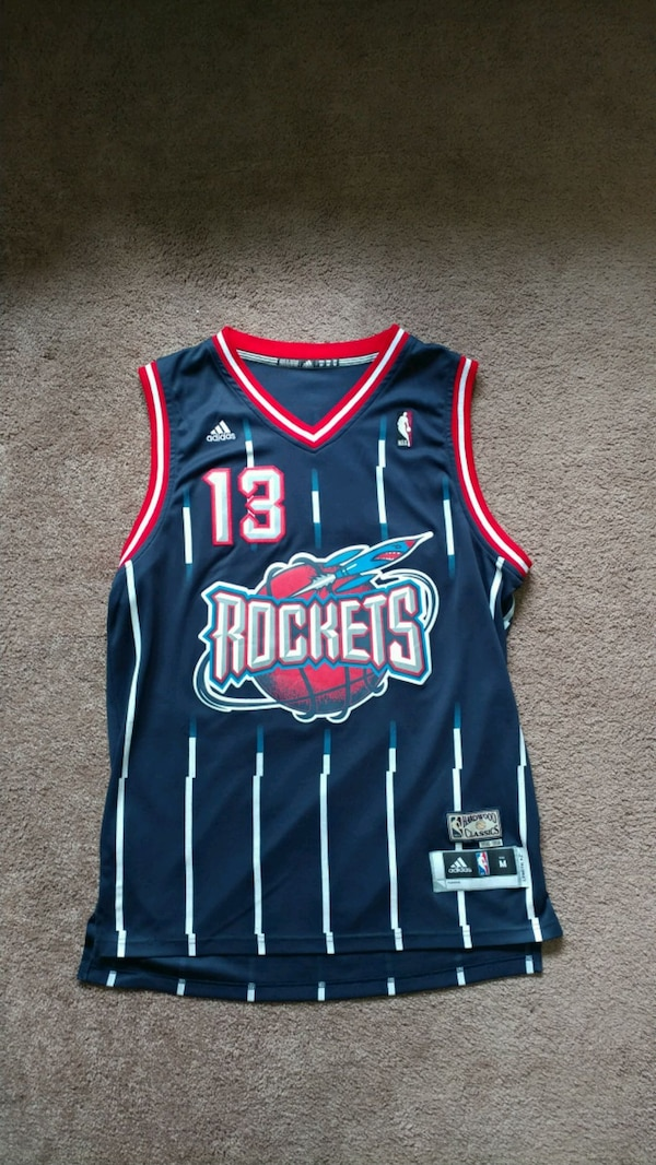 the best attitude 7a7aa 0237c James Harden Rockets Throwback Jersey