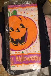 Vintage Unopened Halloween table cover